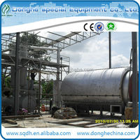 hot sale scrap plastic recycling machine with CE ISO stable running and high oil yield