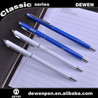 slim blue and white stylus touch capacitive pen stylus pen