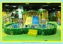 indoor play center playground equipment for children