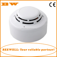 Home indoor or commercial network ceiling installation gas detector with shut-off valve