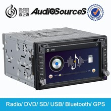 """Radio Tuner,Touch Screen,TV Combination and 6.2"""" Screen Size universal 2 Din 7 inch Touch screen Car DVD player with GPS"""