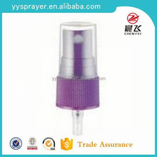 Custom non-spill facial mist sprayer type water spray