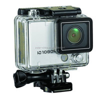 50m depth waterproof sport action camera for diving/traverling