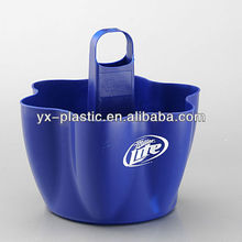 PP plastic bottle carrier/beer bottle holder with handle