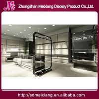 small Shop display stand, MX4478 guangzhou clothes display fixtures cabinet
