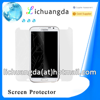 high transparently tempered glass screen protector for Samsung note 3