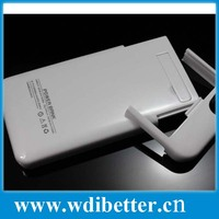 2200mAh Backup Battery Magnetic Power Bank + Case cover For iPhone 5 5G