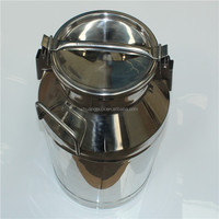 Inox Milk Transportation Container with Lockable Lid