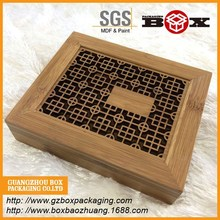 Custom pequeño cajas de regalo de madera venta al por mayor