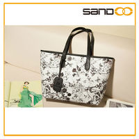2014 made in China PU leather bag, women lady fashion elegance handbags