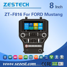 car dvd player with gps navigation for FORD Mustang car dvd player multimedia