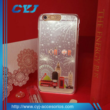 New beautiful phone case custom with LED flash for iPhone 6 6s