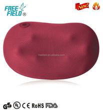Car and home use smart neck & shoulder shiatsu massage pillow F-818A