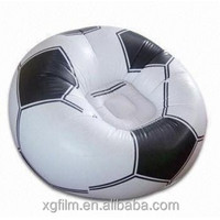 Shanghai Xinggen hot sale children TPU inflatable soccer sofa