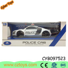 2015 hot toy game electric police mini car toy witthout battery for boys toy can pass EN71/7P/ASTM