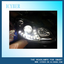 Tuning body kit head lamp L/R for Smart fortwo A 451 820 01 59/A 451 820 02 59