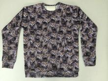 2015 wholesale sublimation custom sweatshirt with hood
