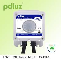 New IP65 PIR Sensor PD-PHS-1 Outdoor Waterproof IP65 Infrared Light Motion Sensor Switch