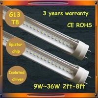 LED supplier for hone office lights 28w 1800mm 6ft led tube light