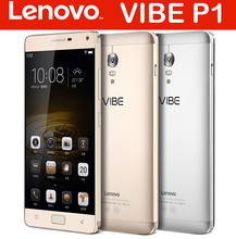 2015 New Sale Lenovo Vibe P1 FDD LTE Mobile Phone 5.5 inch Snapdragon 615 Octa Core 3GB RAM 16GB ROM With 5000MAH Battery