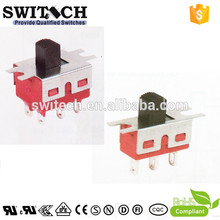 DPDT high quality 6 way micro slide switch factory competitive price for home appliances