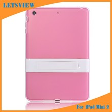 LETSVIEW Transparent Clear Skin Crystal Soft TPU Protective Back Cover for Ipad Mini 1/2/3 Top Selling Cases Housing Shell