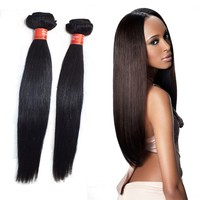 2015 New Products 24'' Top Quality Human Hair Milky Way Cheap Brazilian Hair Weave Bundles