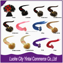 Top Quality U Tip Hair/Fusion Blended Hair Extensions /Remy U Tip Keratin Human Hair Extension Alibaba Wholesale