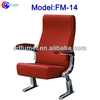 FM-14 Folding metal price seat for theater with table hot sale