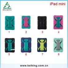 Tablet Plastic PC Cases For iPad Mini Shockproof Stand Hybrid Plastic Case For iPad Mini