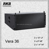"VERA 36 10"" high performance line array speaker box,model box speaker audio, pro stage/disco audio"