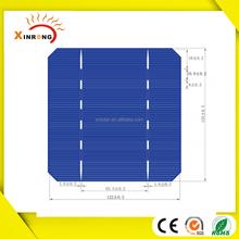 A/B grade high efficiency 125*125 monocrystalline solar cell