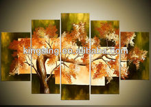 abstract tree painting for wall art design no.40469