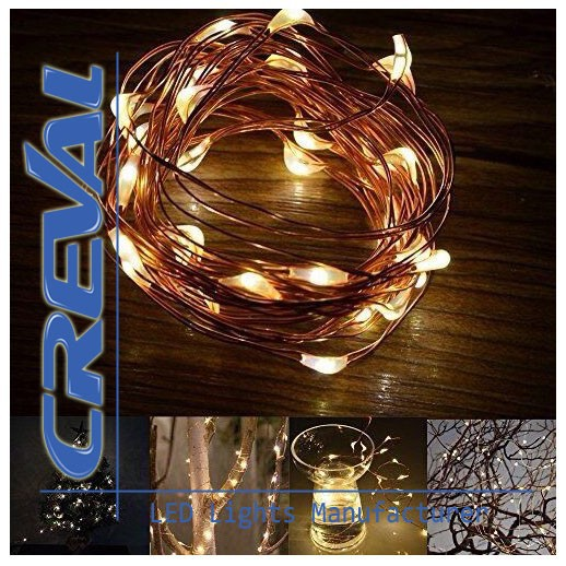 Factory wholesale led copper wire globe string lights for christmas ornaments