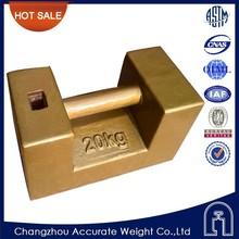 OIML,M1,20kg cast iron weights,scales calibration weight,crane counterweight,etalon weights