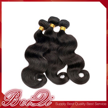 Natural color flip in virgin wefts brazilian curly hair
