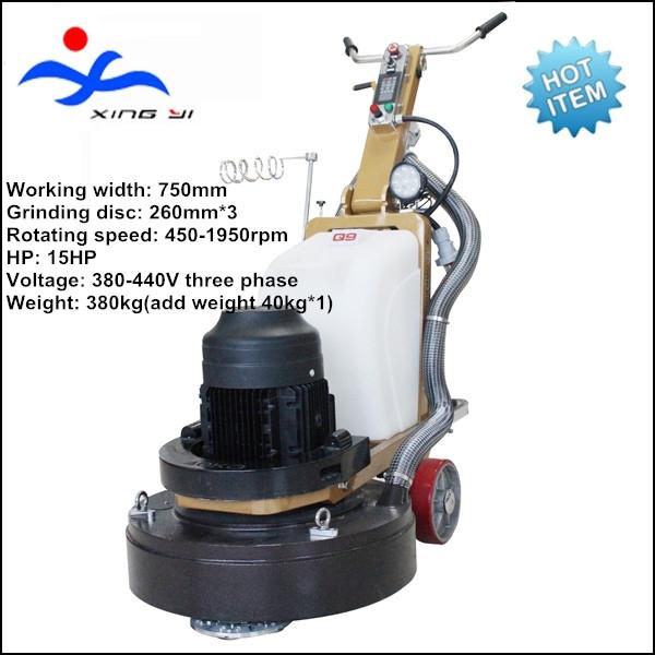 concrete polishing machine