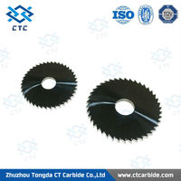 Popularizing Storm tungsten carbide round blade with negative hook angle
