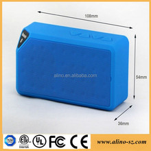 Mini Boombox Bluetooth Speaker Portable Horn Speaker Certified BK 3.0 Outdoor Speakers With Handsfree And Aux-In Function