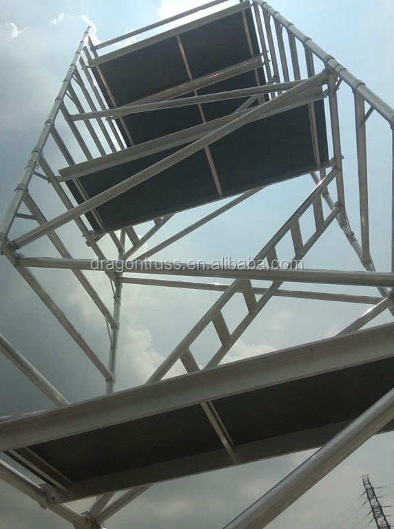 Used Aluminum Scaffolding : Aluminum used scaffolding system for sale buy