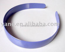 2015 most popular plastic hair band, plastic headband Small order is acceptable
