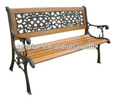 Cast iron and wood garden bench 101220