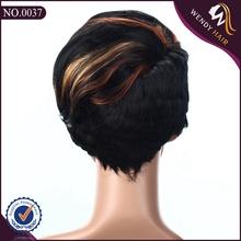 New fashion short human hair wig for black women