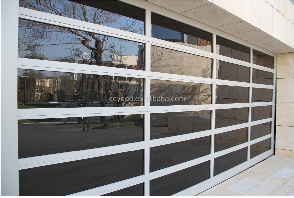 aluminum full view glass garage doors prices. Black Bedroom Furniture Sets. Home Design Ideas