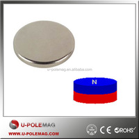 Various sizes strong neodymium N42 disc magnet