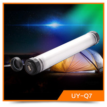 Cheapest Led UY-Q7 3.5W Waterproof Dimamable Torch Led Color Changing Light Rechargeable