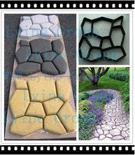 plastic durable cement concrete mold precast Reusable custom-colored brick veneer Pavement Mold with Low cost