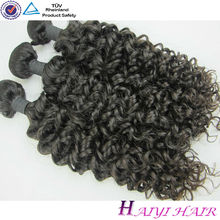 One Donor Virgin Hair Weft Large Stock 100% human hair ponytail