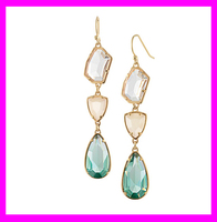 wholesale fashion fancy jewelry earrings designs for party girls