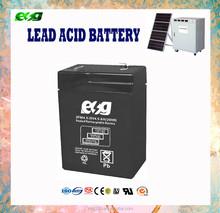 Sealed maintenance free 6v 4.5ah Rechargeable Lead acid battery